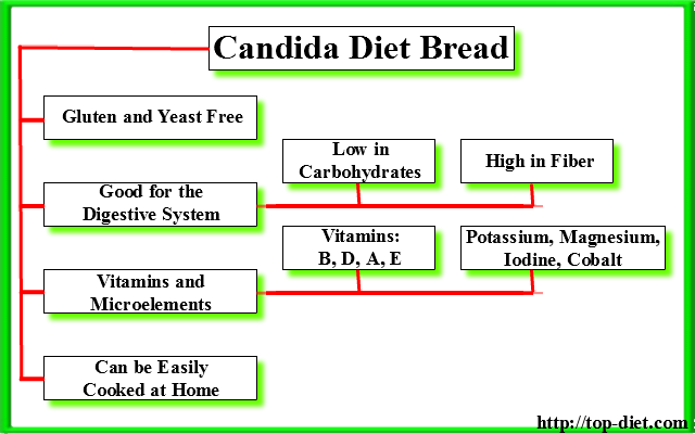 Coconut Bread Candida Diet  Best Recipe for AntiCandida