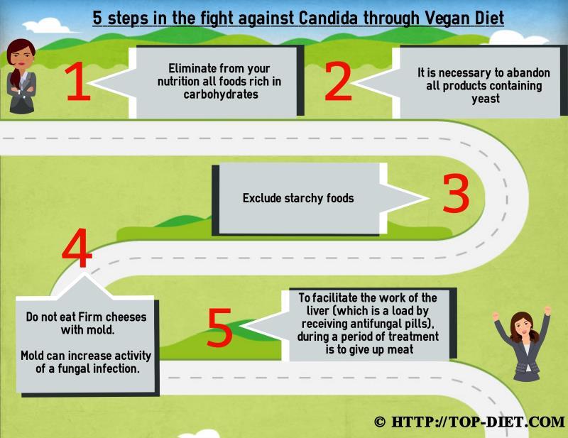 vegan candida diet meal plan