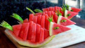Watermelon diet results