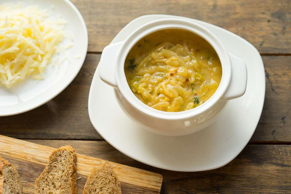 Diet on onion soup - menus and recipes