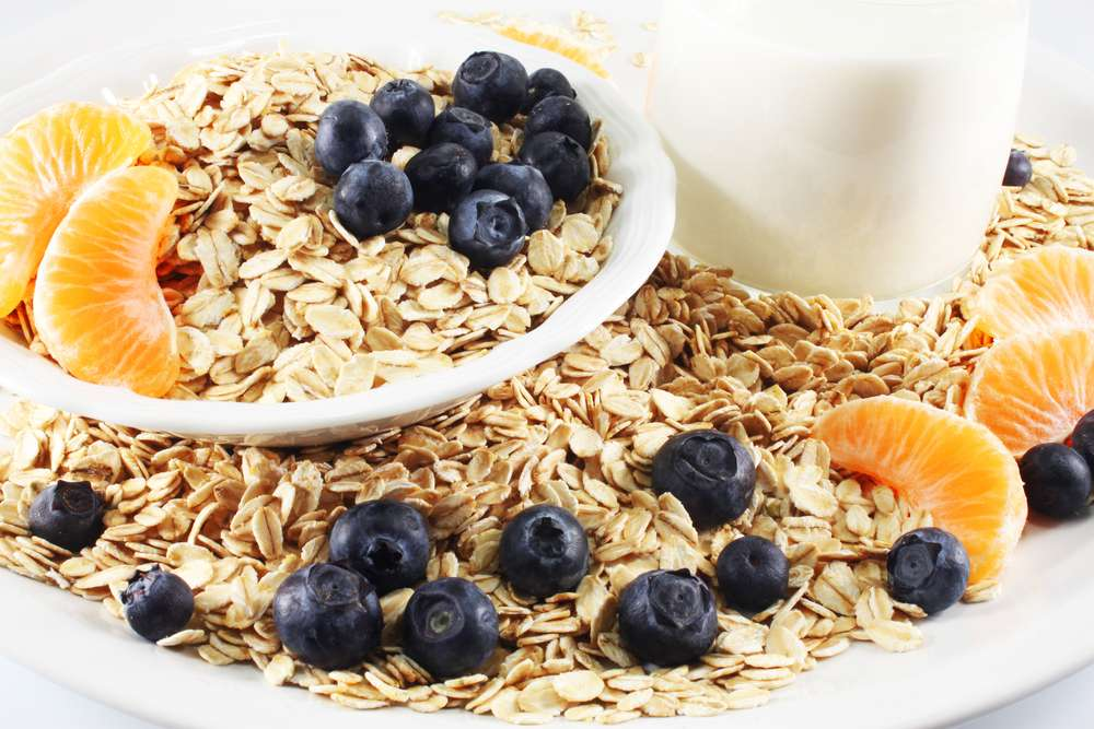 Oatmeal for weight loss: minus 5 kg per week